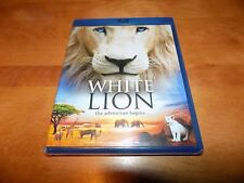 WHITE LION Africa African Lions Adventure John Kani BLU-RAY DISC SEALED NEW