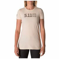 5.11 Tactical Women's Legacy Pop Tee, Cream, X-Small-X-Large, Style 31014AAL