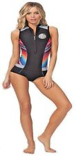 Women's G-Bomb 1mm Cap Sleeve Springsuit Swimsuit 6 Wetsuit