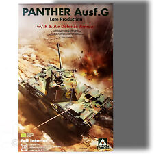TAKOM 1/35 PANTHER AUSF.G LATE PRODUCTION FULL INTERIOR MODEL KIT 2121