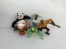 Kung Fu Panda McDonalds Toys 2008 Po Master Shifu Crane Mantis Monkey 5pcs