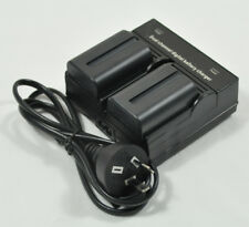 NP-FM500H Battery+Charger for Sony DSLR-A100 A200 A300 A500 A700 A900 A77 II A99