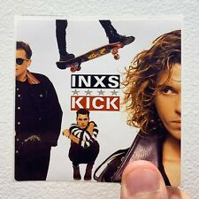 "INXS Kick 3"" x 3"" EP LP Album Cover Sticker"