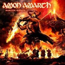"""AMON AMARTH """"SURTUR RISING"""" CD VIKING METAL NEU"""