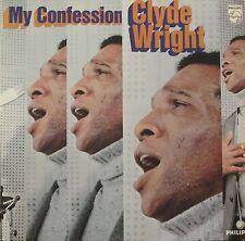 Clyde Wright - My Confession (Philips Vinyl-LP Schallplatte Germany 1969)
