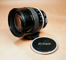Nikon Nikkor 135mm f/2 Ultra Fast AI Mount Telephoto Portrait Lens - USER GRADE!