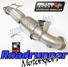 """Milltek Focus MK3 ST250 3"""" largebore Downpipe Rennen Sport Kat Auspuff SSXFD125"""