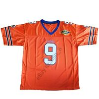 The Waterboy #9 Bobby Boucher Adam Sandler 50th Anniversary Football Jersey