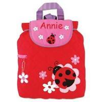 Toddler Backpack Personalized Stephen Joseph Ladybug Custom Name