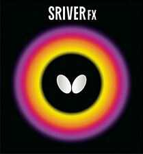 New listing Butterfly Table Tennis Rubber Sriver FX 05060 Black 278 Size:MAX F/S w/Tracking#