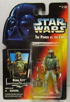 1995  Kenner Star Wars Boba Fett - POTF 2 Red Card New & Sealed Figure MOC