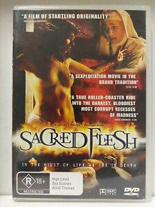 Sacred Flesh RARE Region 4 DVD High Level Sex Scenes FREE SHIPPING 💯 % positive