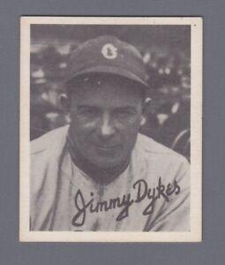 1936 Goudey (R322) Jimmy Dykes Chicago White Sox Baseball Card EX+ wrk