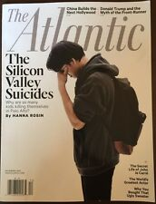 The Atlantic The Silicon Valley Suicides December 2015 FREE SHIPPING!