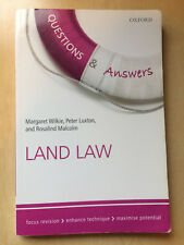 Questions & Answers Land Law: Law Revision and Study Guide by Luxton, Malcolm
