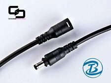 20pcs - 2Pin Male Female Pair - 12/24VDC Connector 5.5x2.1mm Twist Lock – BLACK