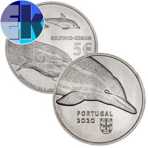 Ek // 5 euro Cu Ni Portugal 2020 Espèce Protégée : Dauphin