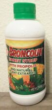 BROCOLIN HONEY SYRUP with PROPOLIS, Natural Plant Extracts, 11.4 oz 11/22