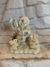 Cherished Teddies JILLYNNE Snowbear /Bunnies 104630 NIB