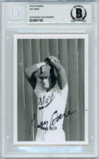 Ray Bare Autographed Signed 3.5x5 Photo Cardinals, Tigers Beckett 10837182
