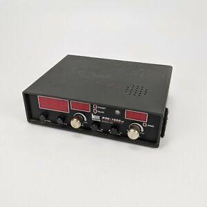 Kustom Pro-1000DS Traffic Radar Main Box - police speed UNTESTED AS IS