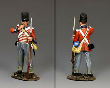 KING AND COUNTRY NAPOLEONIC British Riflemen Reloading NA434