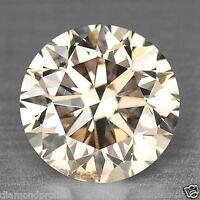 0.71 Cts NATURAL PINKISH BROWN COLOR NATURAL LOOSE DIAMONDS- VS2