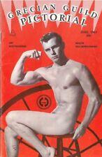 Grecian Guild Pictorial No.30, June 1961, Vintage Male Beefcake Magazine