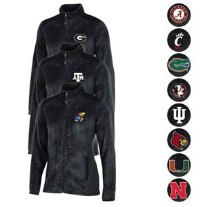 Champion NCAA Full Zip Women's Team Logo Flurry Jacket Collection