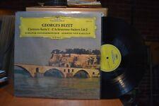 Von Karajan Berliner Bizet Carmen Suite 1 L'Arlesienne LP Deutsche Gram 2530128
