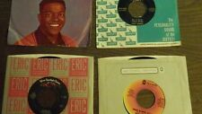 4 VINTAGE 45 RECORDS Bobby Vinton, Clyde Mc Phatter, I'M Walkin', Do It Now