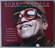 CD    ****  BOBBY WOMACK. THE BRAVEST MAN IN THE UNIVERSE   ****