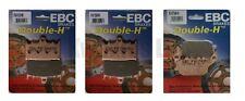 SUZUKI GSF650S Bandit 2007-2011 Set EBC HH PLAQUETTES DE FREIN AVANT et arrière