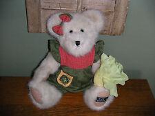 "Boyds Bears Plush 2004 ~10"" Letti Mcveggie~ Paw Dealer Edition Best Dressed"