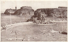 Postcard-Scotland-View of the Bathing pond