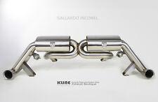 Kline F1 Grade Inconel Exhaust System & DeCat pipes to fit Lamborghini Gallardo