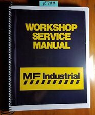 Massey Ferguson MF50 MF50A Tractor Backhoe Loader Workshop Service Manual 3/68