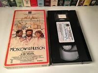 Moscow On The Hudson 80's Comedy Drama VHS 1984 Robin Williams Maria C. Alonso