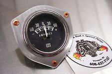 Drag Boat Rivet Flat Aluminum Hot Rat Rod Gauge Panel Dash Gasser Bezel 2 1/8""