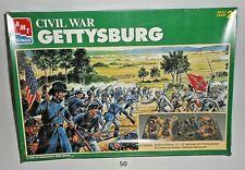 AMT ERTL Civil War Gettysburg Skill Level 2 Model Kit 1/72 Diorama NEW UNUSED 50