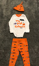 baby halloween costume Outfit My First Halloween Size 6-9 Months Immaculate