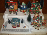 Christmas Village Display Platform J22 For Lemax Dept 56 Dickens + More