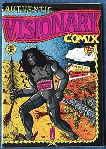 Authentic Visionary Comix  Underground Comix 1976