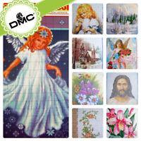 UZ-28 Cross stitch Religious & Saint Flower Landscape Patterns - Embroidery DMC