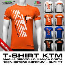 T-Shirt KTM PREMIUM factory racing red bull uomo aderente slim maglia maglietta