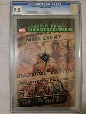 Planet Hulk: Gladiator Guidebook #nn 9.8 CGC MARVEL World War Hulk