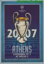 599  FINAL 2006-07 LIVERPOOL.FC Vs AC.MILAN STICKER CHAMPIONS LEAGUE 2016 TOPPS