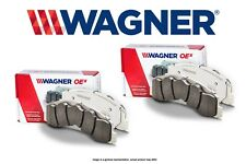 [FRONT + REAR SET] Wagner OEX Slotted Disc Brake Pads WG98974