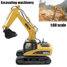 New RC 1:14 2.4GHz 15CH RC Car Alloy Auto Demonstration Gifts 1550 Excavator RTR