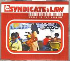 Syndicate Of Law - Early In The Morning - CDM - 2000 - House 5TR Epic France